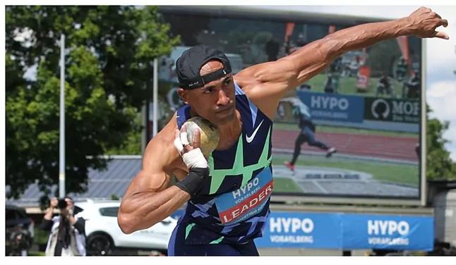 Decathlon: Damian Warner resta a 5 punti dalla barriera dei 9.000 punti a  Götzis