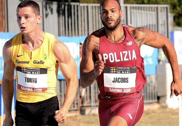Tortu vs Jacobs, la super sfida nei 100 metri sabato 22 maggio a Rieti in Tv