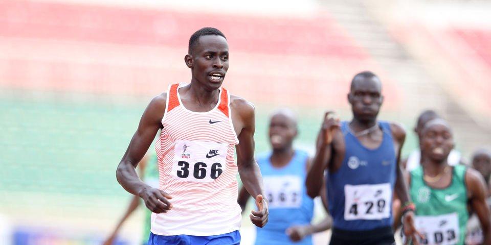 Negli 800 metri esplode la stella keniota di Elias Ngeny