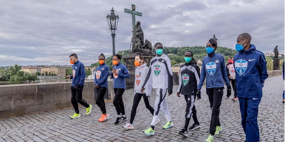 """Risultati  """"Battle of the Teams"""":  Benson Kipruto e Purity Rionoripo vincono la gara di Praga"""