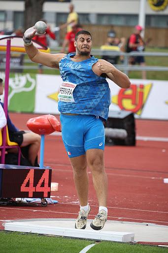 Riccardo Ferrara scatenato nel peso, a Reggio Calabria spara a m. 19,80!