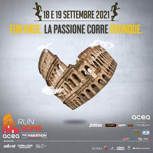 Errata corrige: Acea Run Rome The Marathon, la Stracittadina Fun Race si può correre in tutta Italia