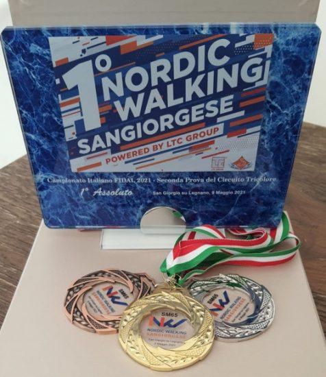 1° Sangiorgese Nordic Walking powered by LTC: la soddisfazione di Tiziano Ardemagni, Responsabile Nazionale FIDAL Nordic Walking