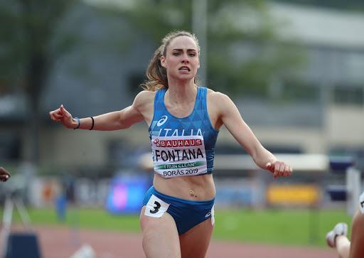 Vittoria Fontana vince i 100 metri del Trofeo Bracco a Milano