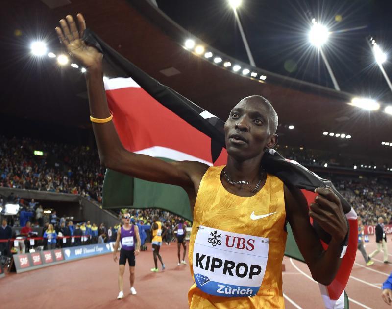 Doping: Asbel Kiprop fa causa alla federazione keniota per tornare a gareggiare