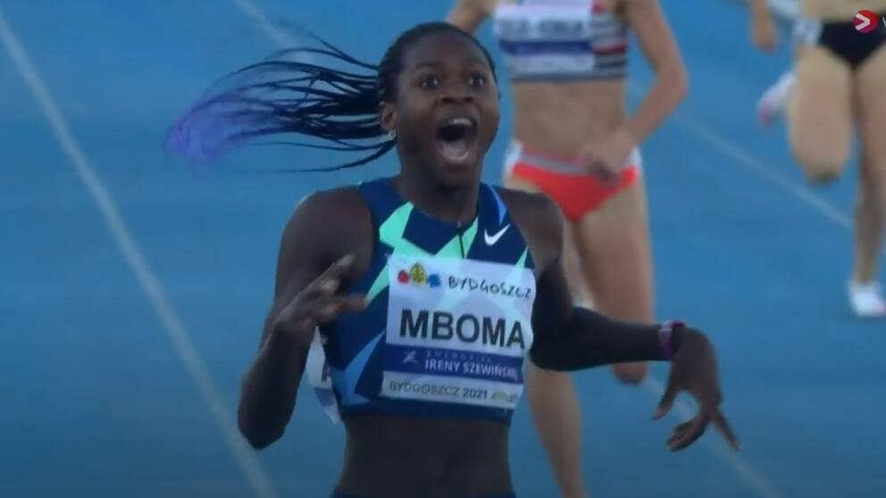Sensazionale Record del Mondo Junior di Christine Mboma  nei 400 metri-IL VIDEO