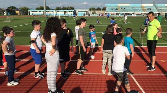 RunLab detto e fatto Casal di Principe: atletica giovanile in pista.