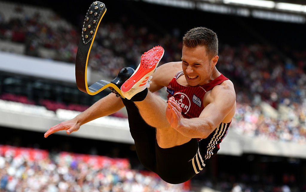Europei paralimpici: sensazionale record del mondo T64 nel lungo, 8,62 di Markus Rehm