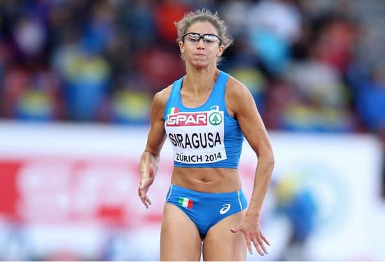 Irene Siragusa corre in 22