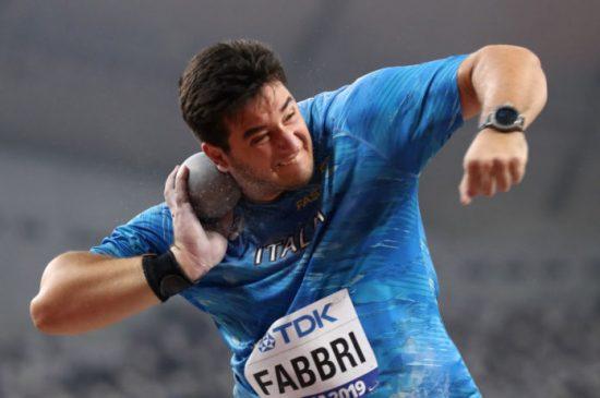 Leonardo Fabbri superbo, migliore di tutti con 21,71 ma terzo,  vittima della scellerata regola della Diamond League