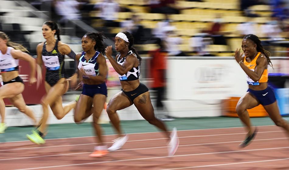 Shelly-Ann Fraser-Pryce diventa la donna più veloce del mondo in vita