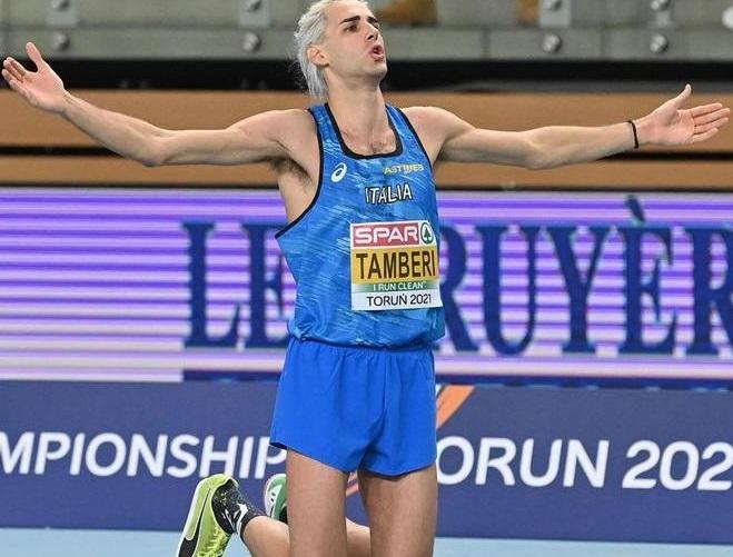 Gianmarco Tamberi sta meglio, possibile rientro in gara domenica 6 giugno a Hengelo