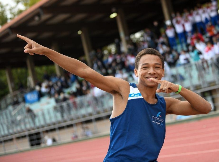 Aldo Rocchi sempre più lontano, migliorato il record italiano U16 nel triplo