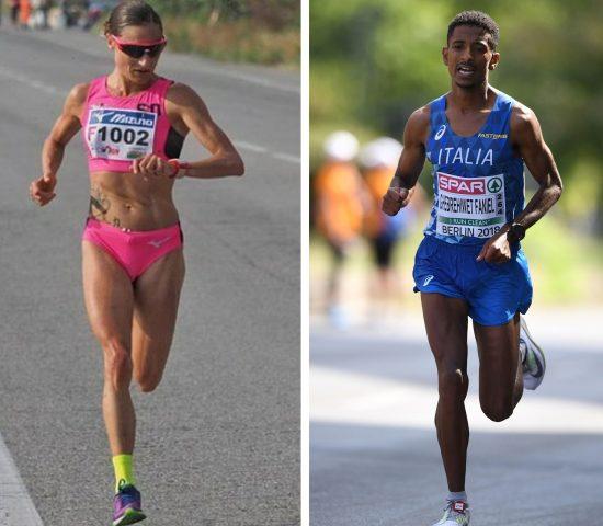 Sara Dossena e  Eyob Faniel sono le star azzurre della Giulietta&Romeo Half Marathon di domenica 13 giugno