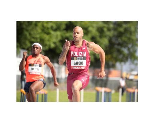 Marcell Jacobs rientro Ok, vittoria nei 100 metri in Polonia
