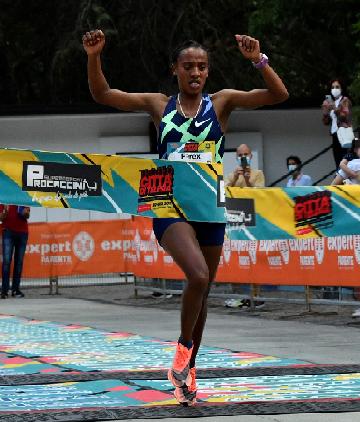 """""""Trofeo Città di Telesia"""": dominio etiope con Taye Girma e Sutume Kebede"""