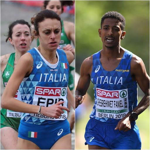 Eyob Faniel (primo) e Giovanna Epis (seconda) brillano nella Giulietta&Romeo Half Marathon di Verona