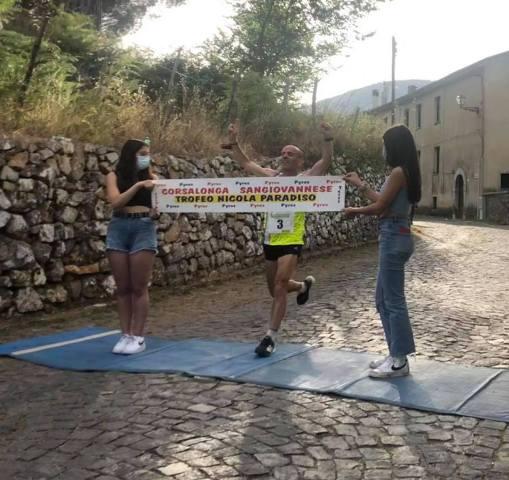 Corsalonga Sangiovannese: il sannita Varrella taglia il traguardo della 38° edizione, la gara femminile festeggia Goursand Parente
