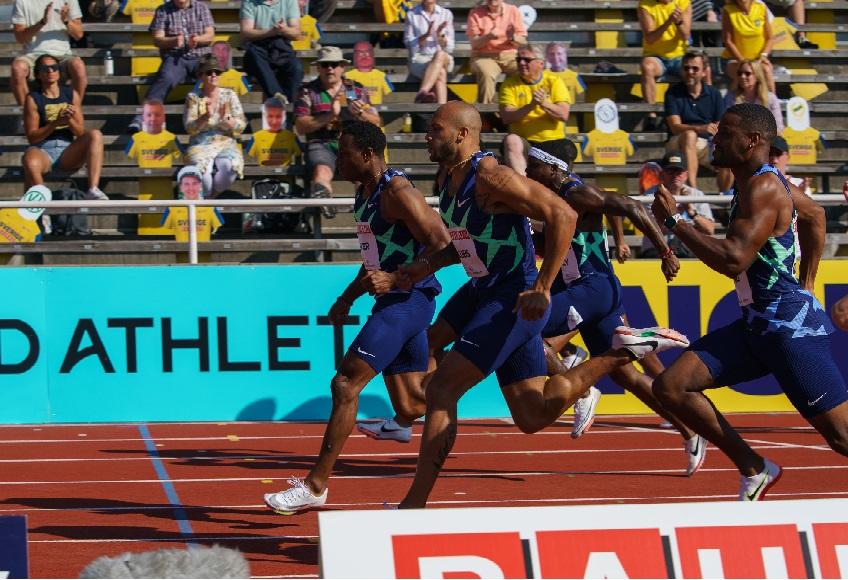 Marcell Jacobs sfiora la vittoria nei 100 metri della Diamond League a Stoccolma