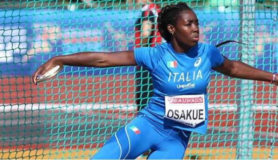 Olimpiadi Tokyo Atletica: Daisy Osakue va in finale nel disco col record italiano eguagliato