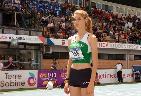 E' scomparsa a 19 anni l'atleta Francesca Mirarchi