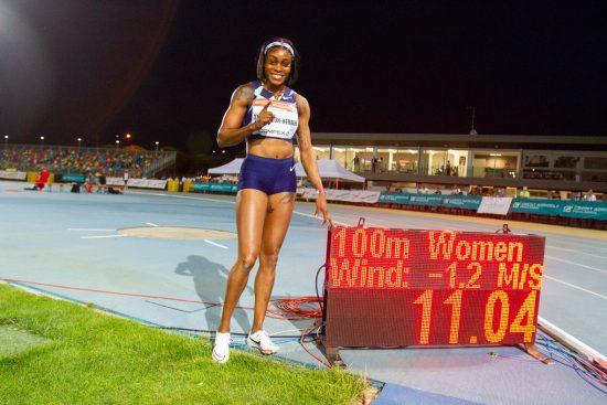 Meeting Lignano 2021 - record 100m Elaine Thompson