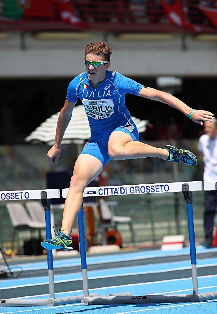 Europei U23 Tallin: Alessandro Sibilio va in finale nei 400 ostacoli col miglior tempo