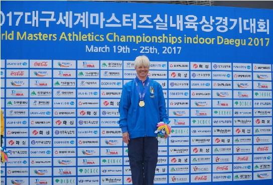 Marcia: è morta l'atleta Master Natalia  Marcenco