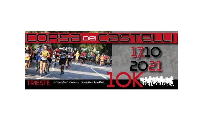 """""""La Corsa dei Castelli"""" a Trieste, il 17 ottobre si corre da Miramare a San Giusto"""