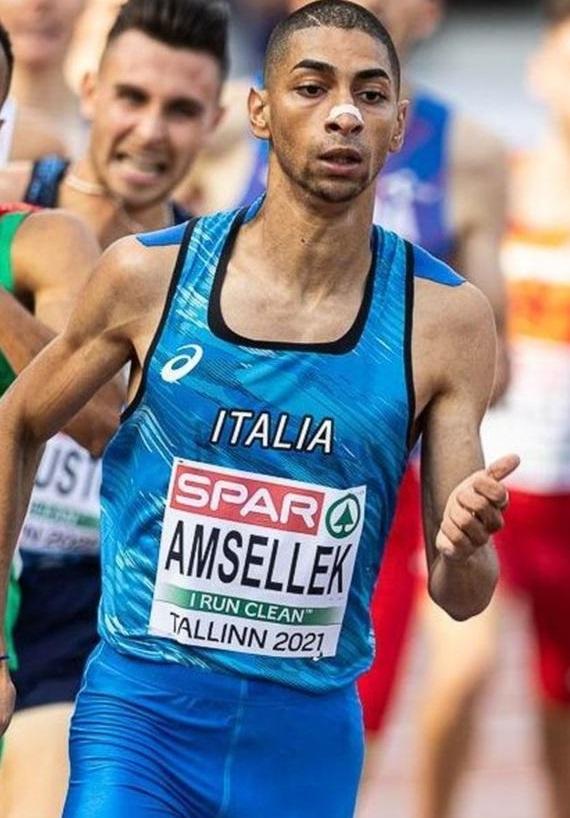 A Brescia negli 800 metri miglioramenti per Nesim Amsellek e lo junior Francesco Pernici