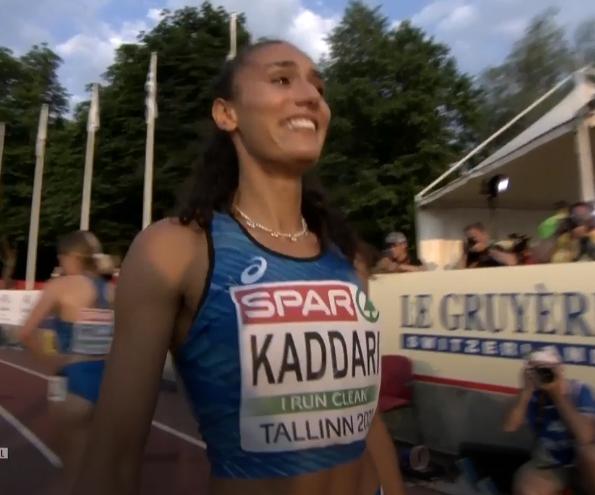 Europei U23: vola all'oro Dalia Kaddari nei 200 metri senza diretta Rai!