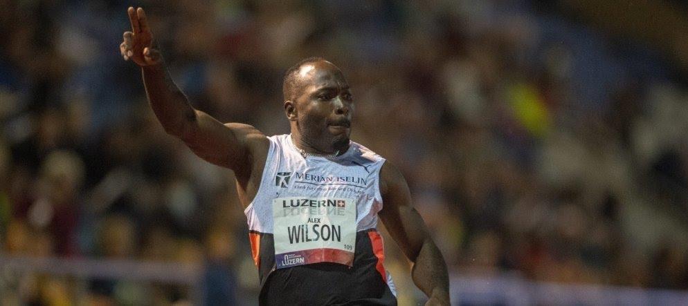Incredibile record europeo nei 100 metri dello svizzero Alex Wilson