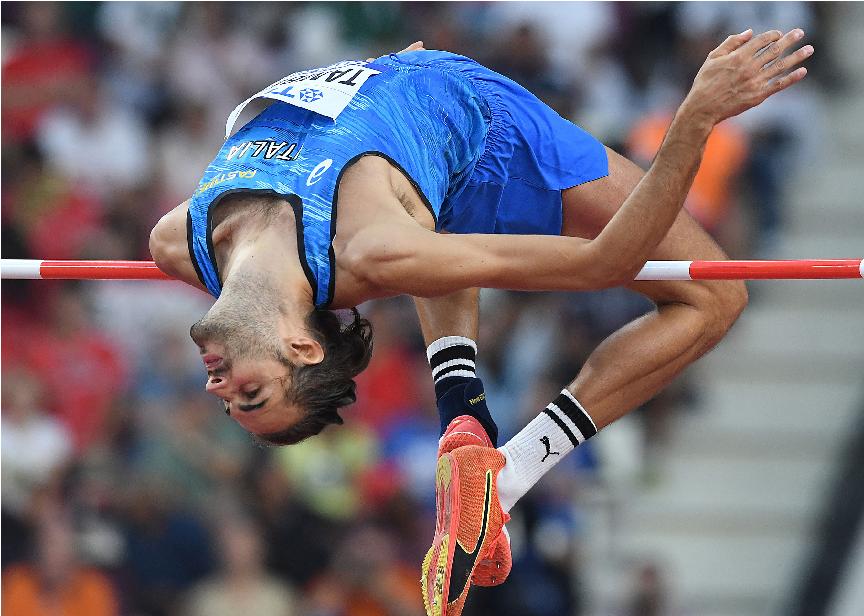 """Gianmarco Tamberi 2,30 nell'alto in Ungheria,  4° in una gara """"Olimpica"""""""