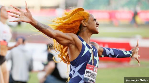 """Sha'Carri Richardson: il mondo dello sport Usa si unisce per sostenerla, """"Lasciatela correre"""""""