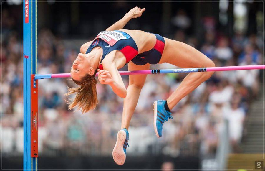 Elena Vallortigara sale a 1.96 nell'alto a Sotteville-lès-Rouen in Francia