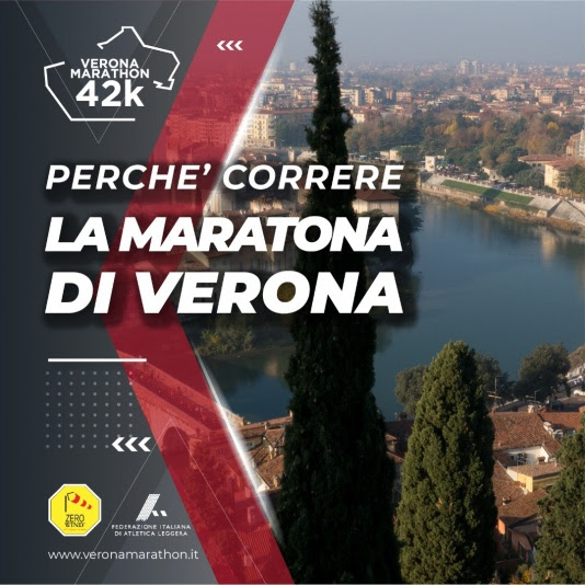 Verona Marathon e la doppia promo società. Si corre il 21 novembre