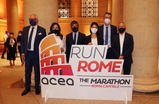 Presentata l'Acea Run Rome The Marathon, Roma torna a correre