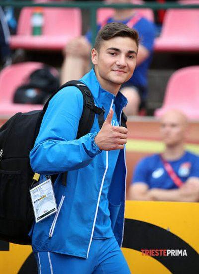 Simone Biasutti atterra a 16,61 nel triplo a Napoli