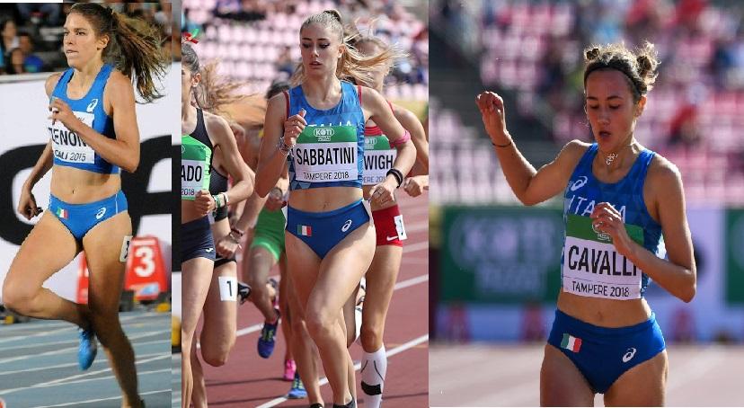Europei U23 Tallin: seconda giornata- Zenoni, Sabbatini e Cavalli raggiungono la finale nei 1500 metri