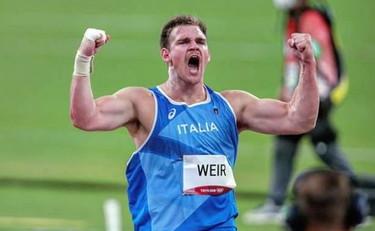 Zane Weir vince il peso a Rovereto con un grande ultimo lancio