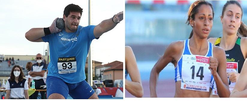 Leonardo Fabbri 4° nel peso e Joyce Mattagliano 5^ nei 1500 metri in Lussemburgo