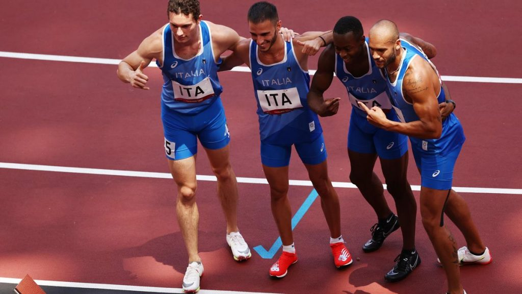 Olimpiadi Tokyo Atletica: Italia super nella 4x100, crolla la quota per la medaglia