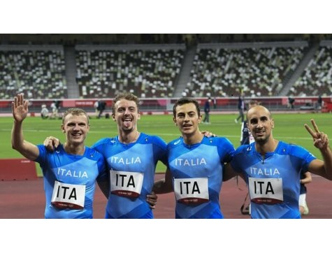 Olimpiadi Tokyo Atletica: record italiano e 7° posto per la staffetta 4x400 m. azzurra