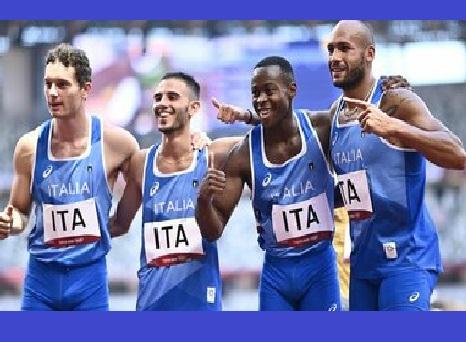 Olimpiadi Tokyo Atletica: la 4x100 azzurra vola in finale col record italiano