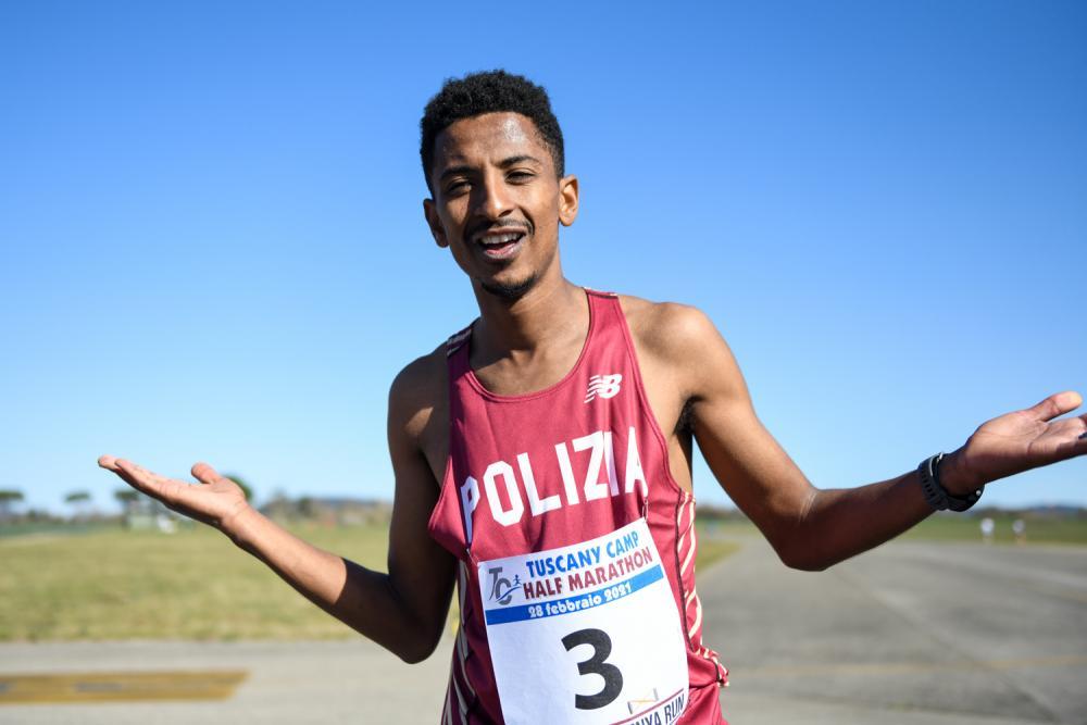 Eyob Faniel correrà la maratona di New York