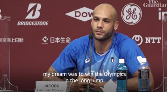 Marcell Jacobs: il video della conferenza stampa,
