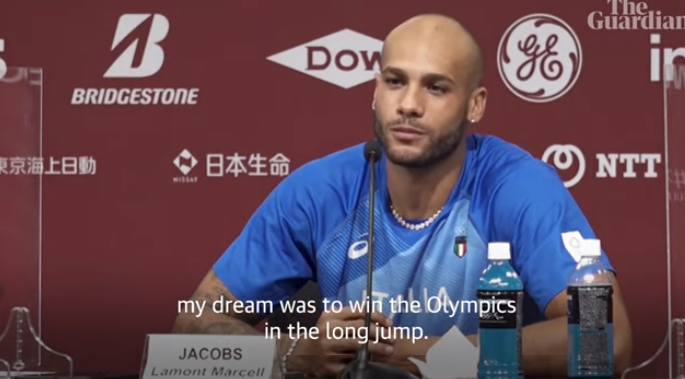 """Marcell Jacobs: il video della conferenza stampa, """"Sogno d'infanzia che diventa realtà"""""""
