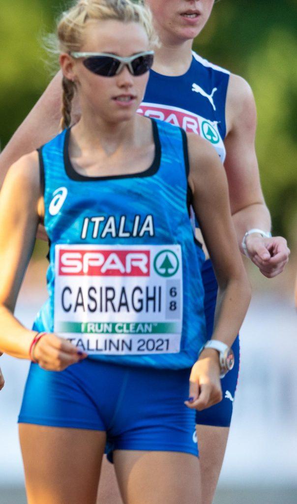 Mondiali U20 Nairobi: ottimo 5° posto nella marcia (10.000 metri)  di Martina Casiraghi