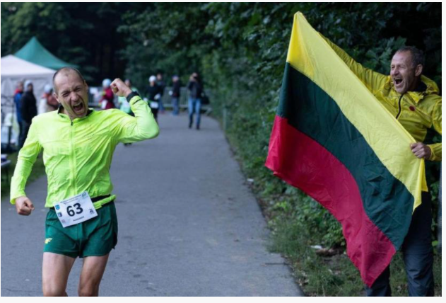 Nuovo record mondiale delle 24 ore del lituano Aleksandr Sorokin  che percorre 309 Km