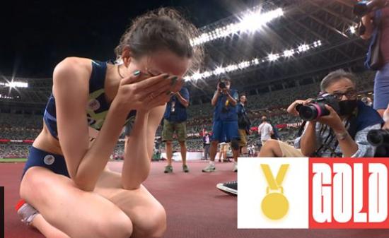 Olimpiadi Atletica: la russa Mariya Lasitskene vince una grandiosa medaglia d'oro nel salto in alto